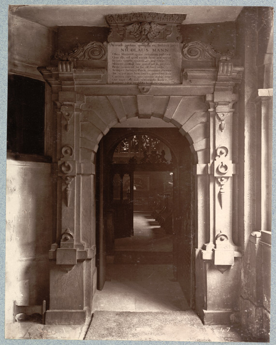 Entrance To The Chapel, Charterhouse